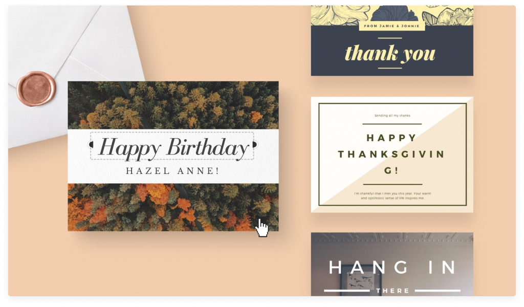 Free Online Card Maker: Create Custom Designs Online | Canva | Make Your Own Printable Birthday Cards Online Free