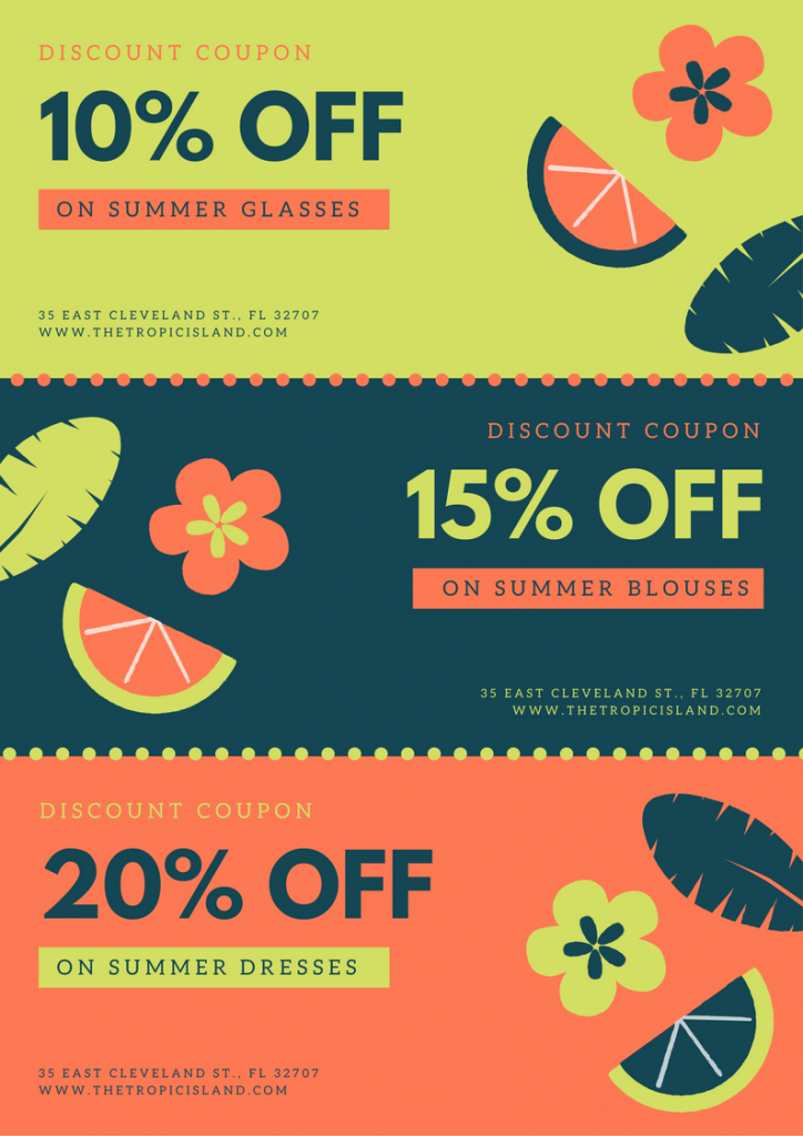 Free Online Coupon Maker: Design A Custom Coupon In Canva | Deal A Meal Cards Printable