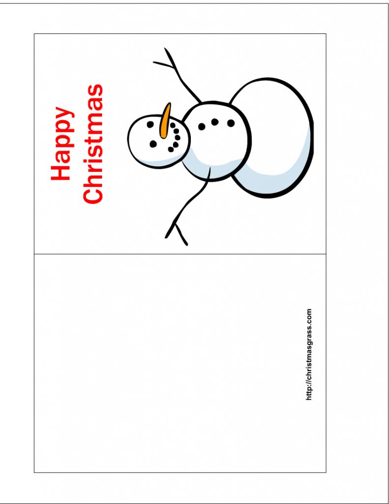 Free Online Printable Christmas Cards - Kleo.bergdorfbib.co | Printable Xmas Cards Online