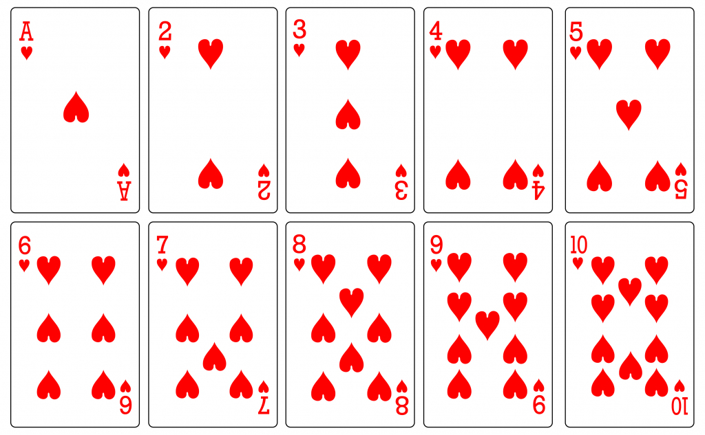 Free Playing Cards, Download Free Clip Art, Free Clip Art On Clipart | Printable Mini Playing Cards