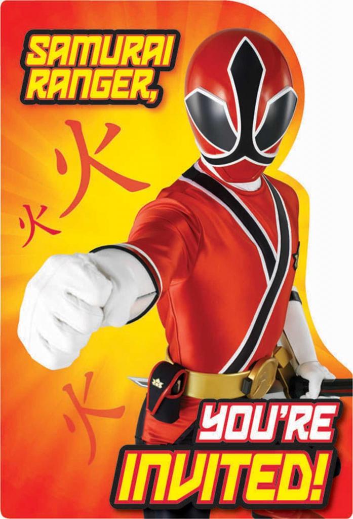 Free Power Ranger Birthday Invitations   Bagvania Invitation   Power   Power Rangers Birthday Card Printable