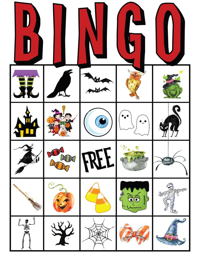 Free Printable Abc Bingo Cards | Free Printables | Halloween Picture Bingo Cards Printable