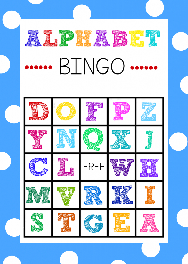 Free Printable Alphabet Bingo Game   Abc Games   Alphabet Bingo   Abc Bingo Cards Printable
