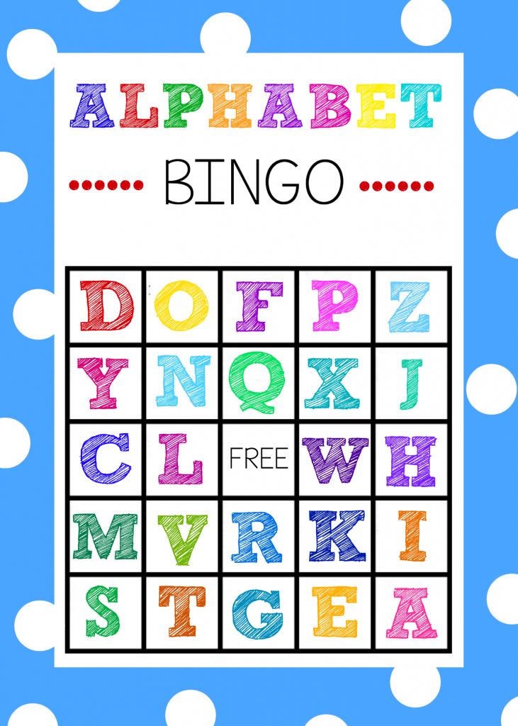 Free Printable Alphabet Bingo Game   Printable Picture Bingo Cards For Kids