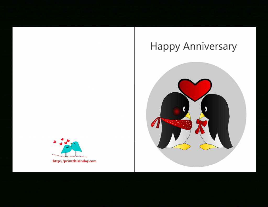 Free Printable Anniversary Cards For Him - Printable Cards | Anniversary Cards Printable For Parents
