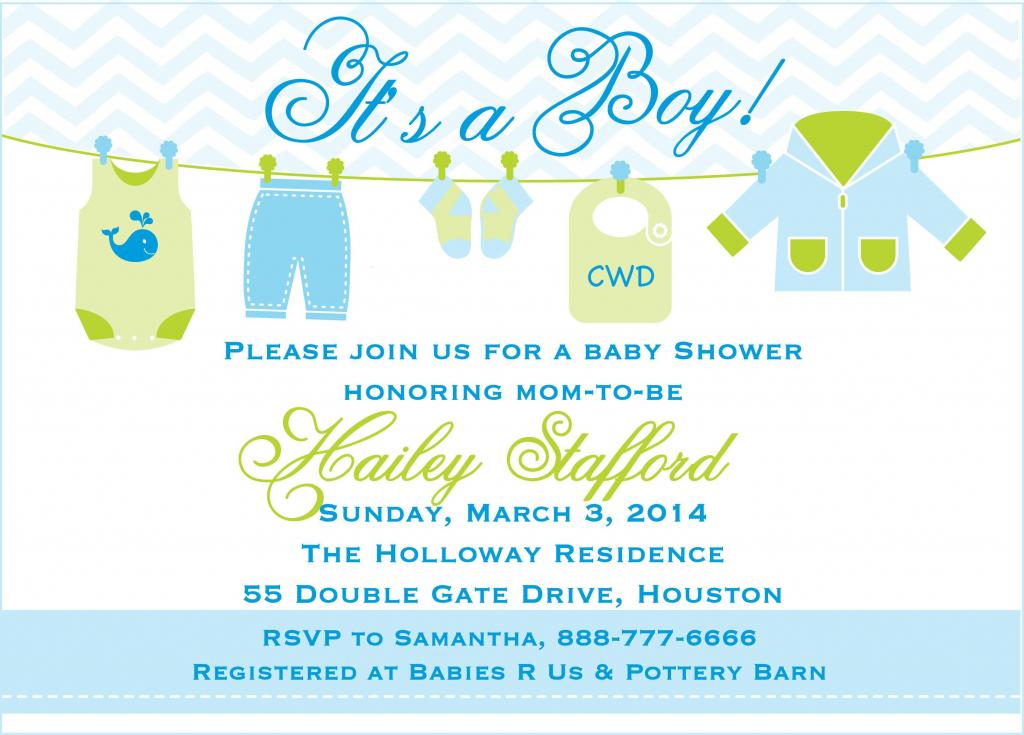 Free Printable Baby Boy Shower Invitation Templates Elegant Baby | Free Printable Baby Shower Cards Templates
