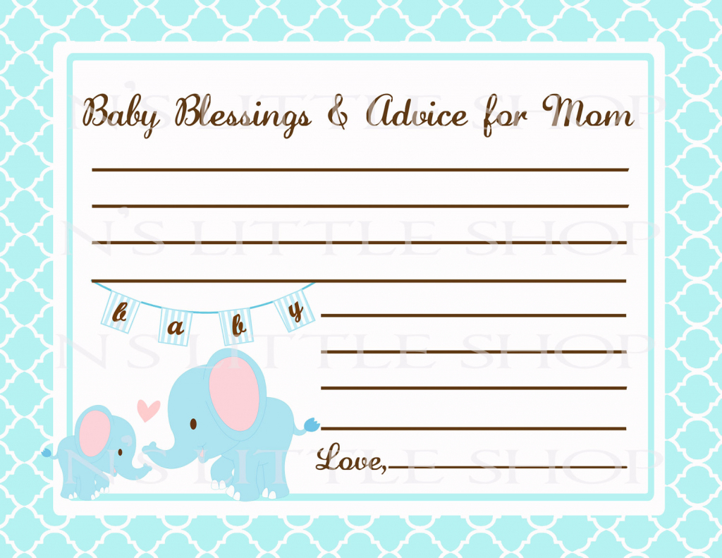 Free Printable Baby Shower Advice Cards - Printable Cards | Free Printable Baby Advice Cards