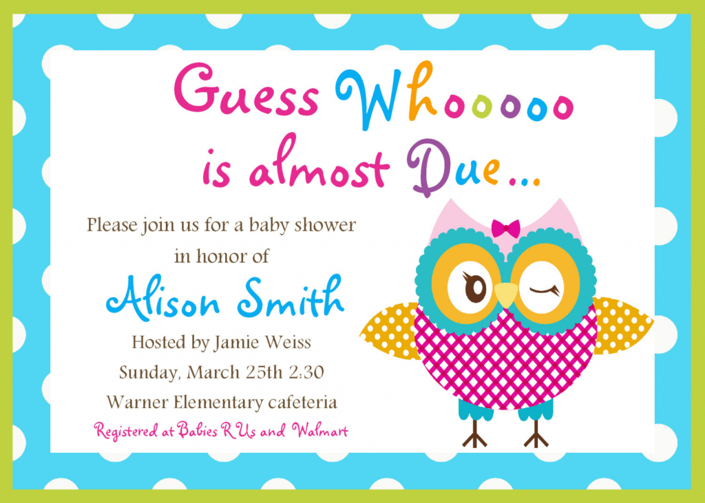 Free Printable Baby Shower Cards - Printable Cards | Free Printable Baby Shower Card