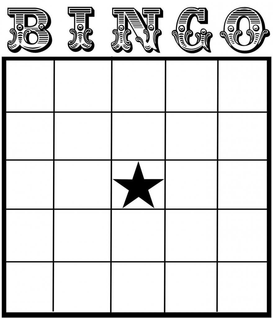 Free Printable Bingo Card Template - Set Your Plan & Tasks With Best | Free Printable Bingo Cards For Teachers