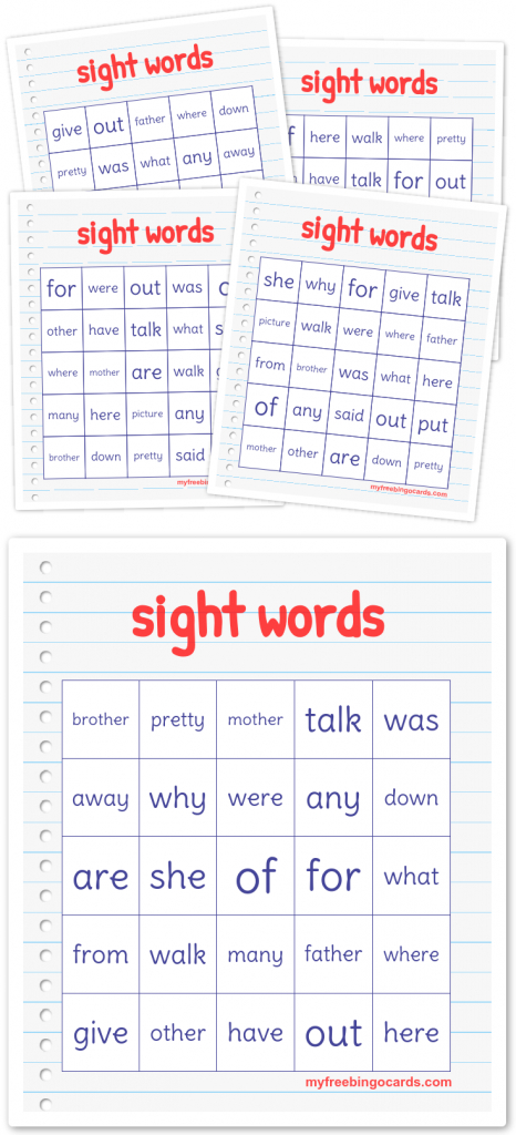 Free Printable Bingo Cards   New   Free Bingo Cards, Free Printable   Vocabulary Bingo Cards Printable