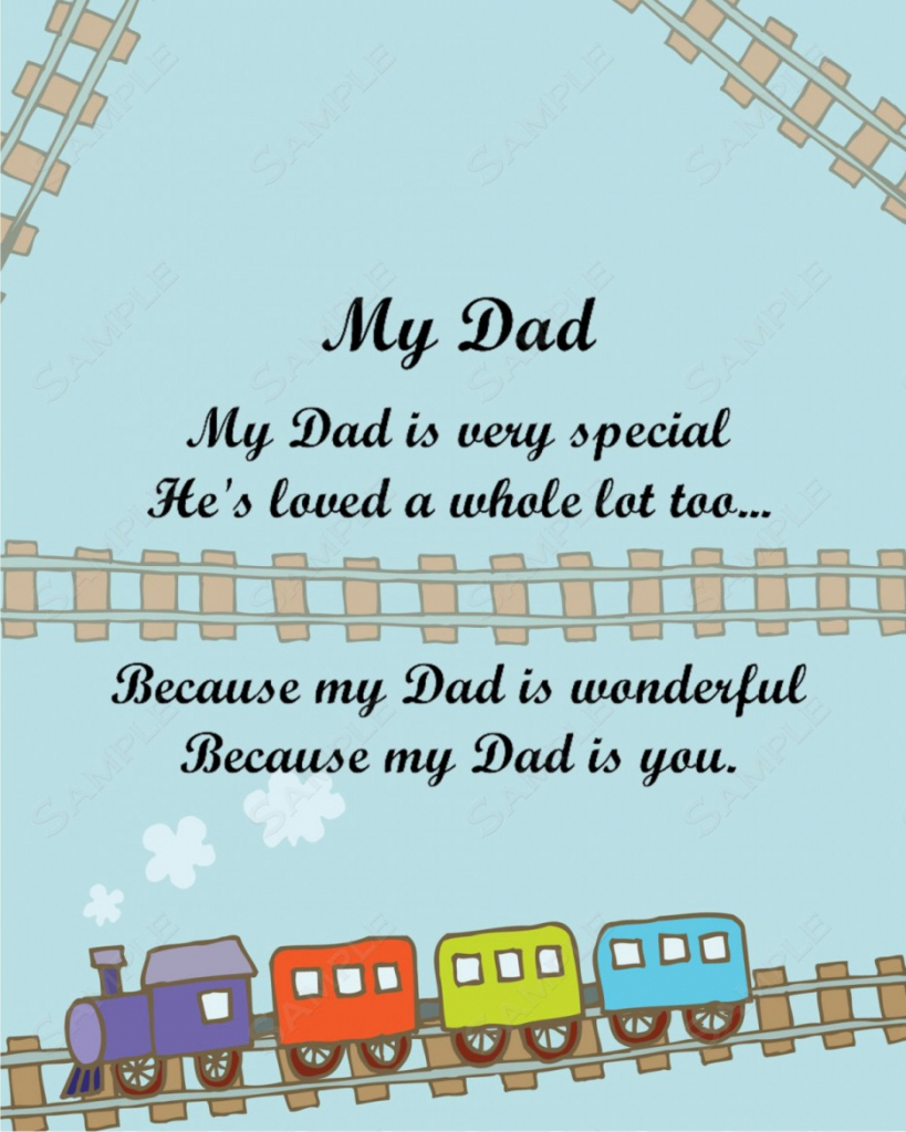Free Printable Birthday Cards For Dad From Daughter – Happy Holidays!   Free Printable Birthday Cards For Dad