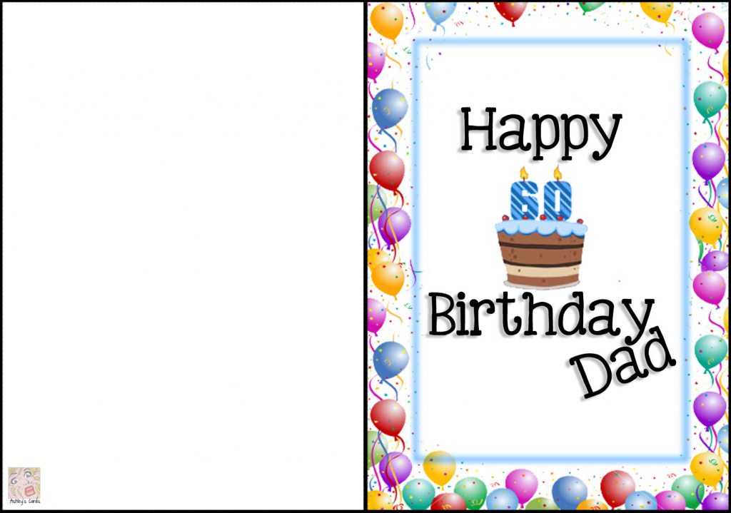 Free Printable Birthday Cards For Dad - Printable Cards   Free Printable Birthday Cards For Dad