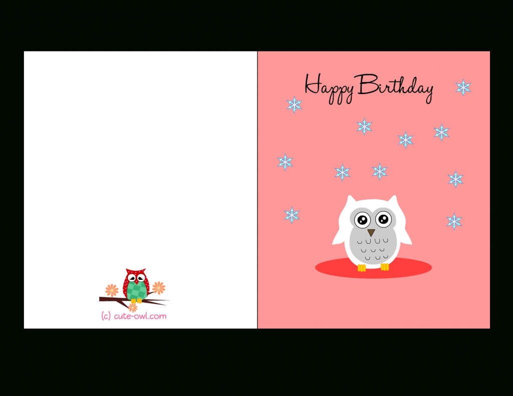 Free Printable Birthday Cards For Girls – Happy Holidays! | Printable Birthday Cards For Girls