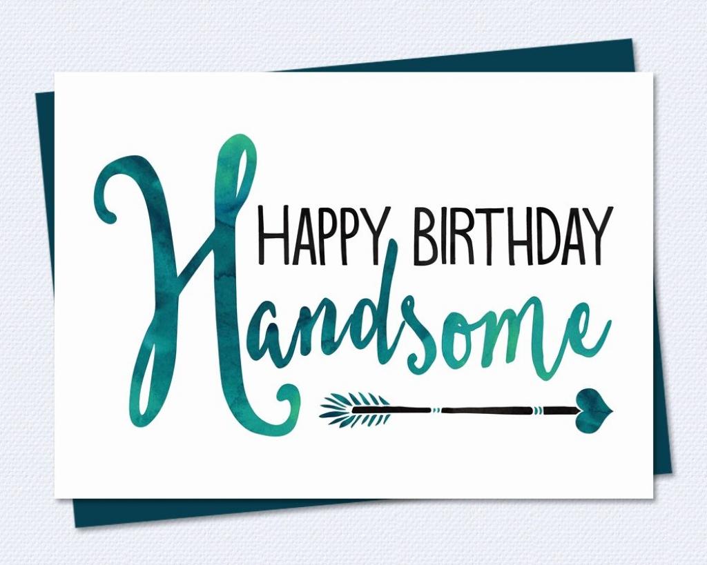 Free Printable Birthday Cards For Him | Fcbihor | Free Printable Birthday Cards For Him