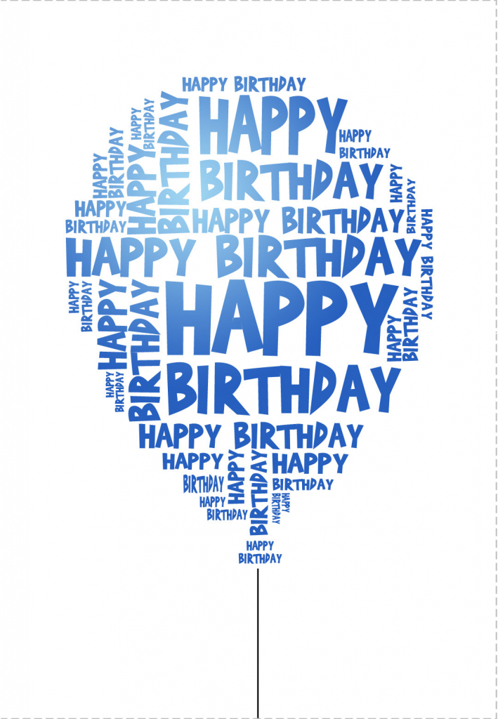 Free Printable Birthday Cards For Him – Happy Holidays! | Free Printable Birthday Cards For Him