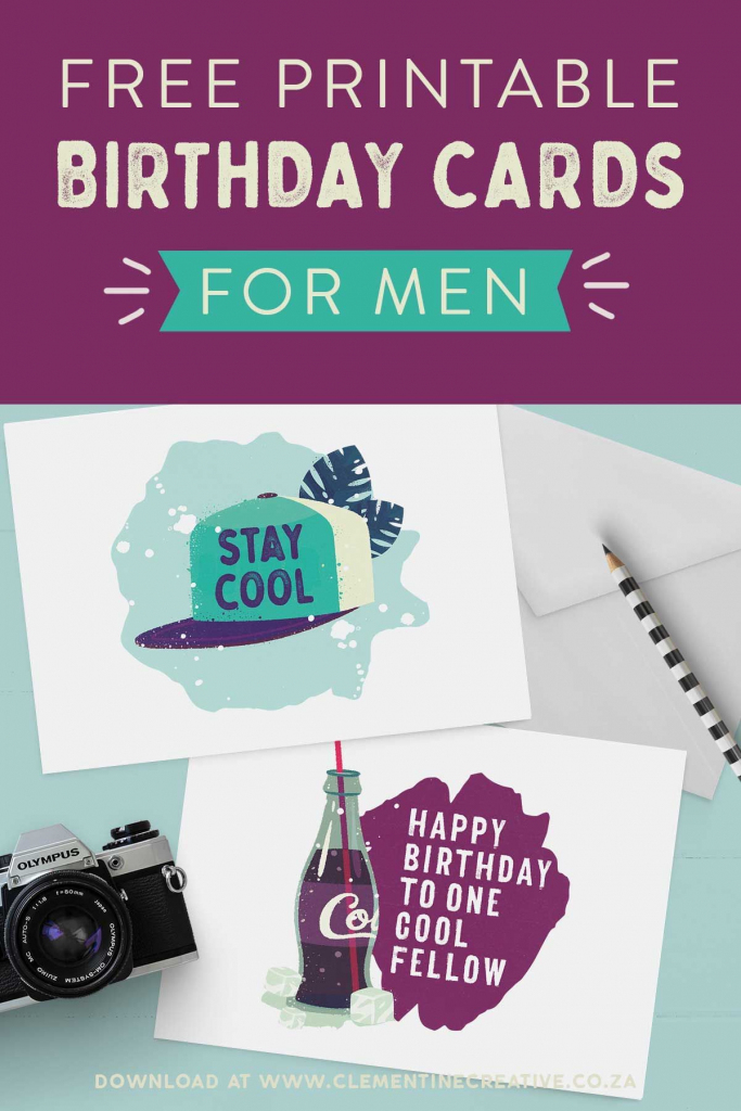 Free Printable Birthday Cards For Him | Printables | The Best | Free Printable Birthday Cards For Him