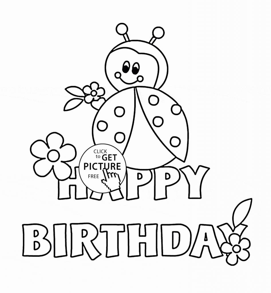 Free Printable Birthday Cards For Kids - Kleo.bergdorfbib.co | Printable Coloring Anniversary Cards