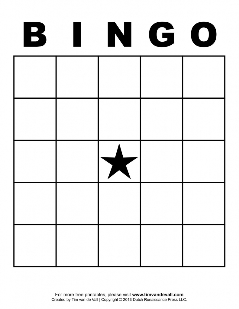 Free Printable Blank Bingo Cards Template 4 X 4   Classroom   Blank   Printable Bingo Cards 1 100