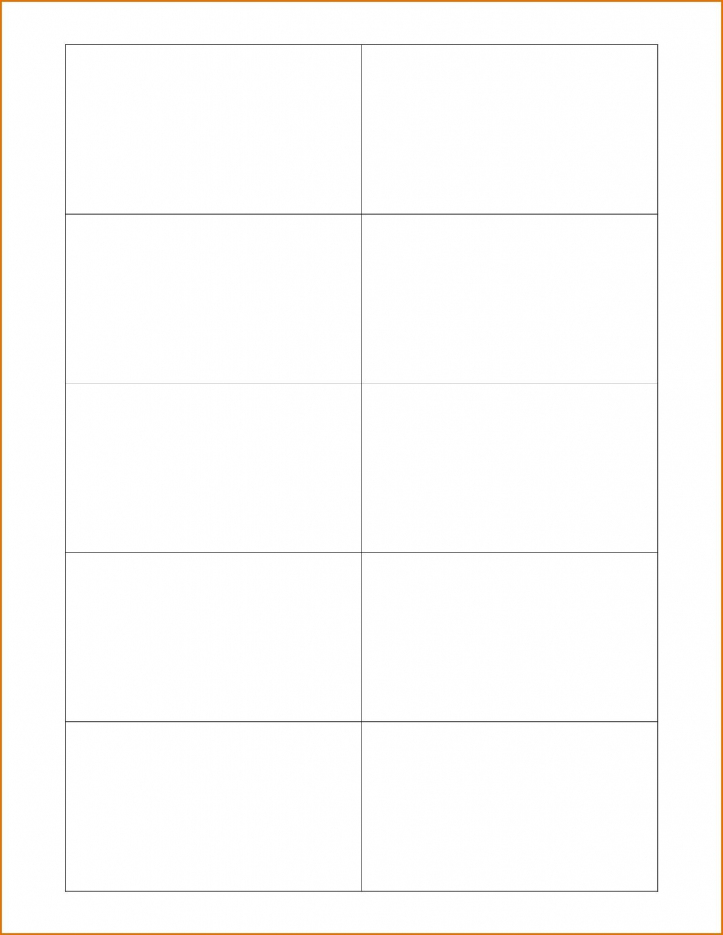 Free Printable Business Card Templates - Free Printable Cards | Make Your Own Printable Card