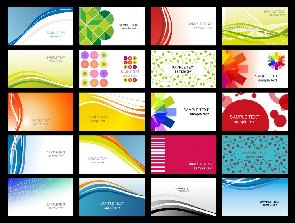 Free Printable Business Card Templates Sample   Get Sniffer   Free Printable Business Card Templates