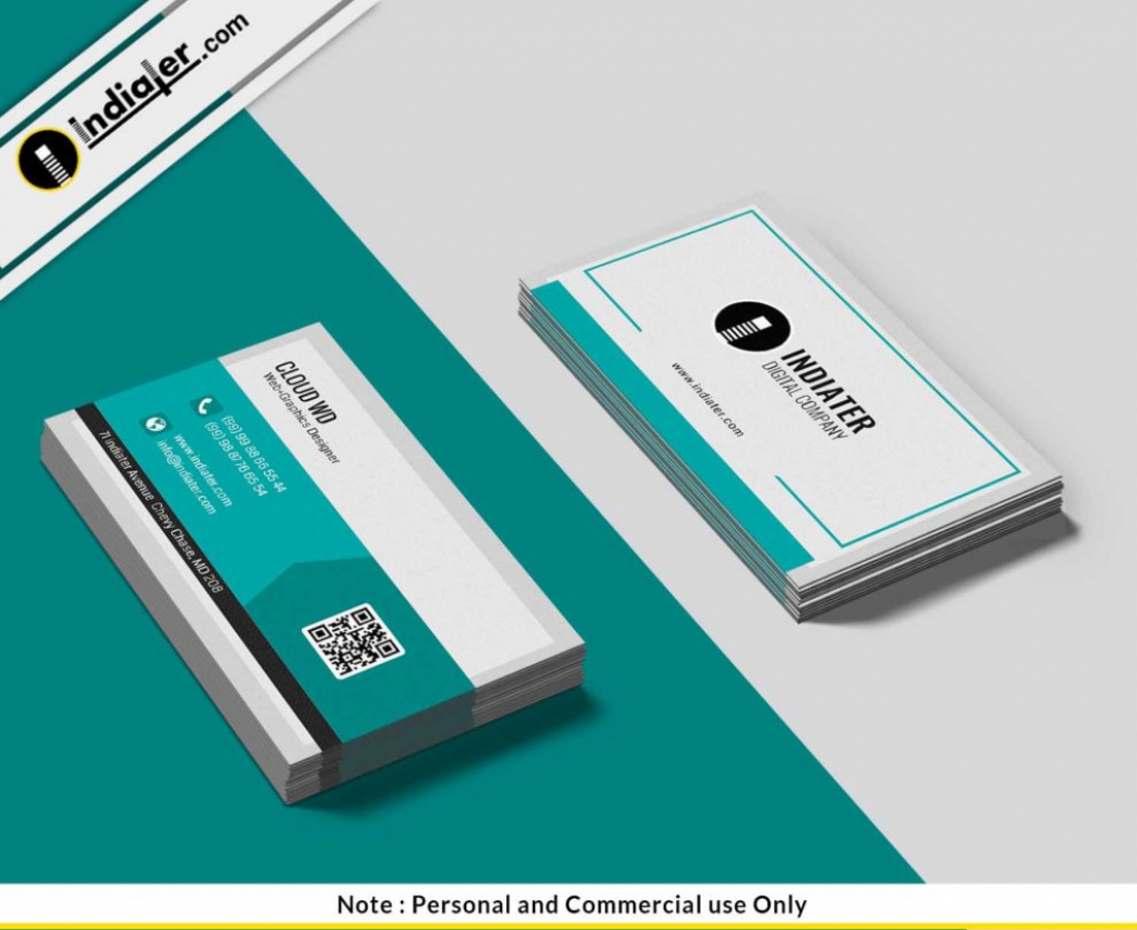 Free Printable Business Cards Psd Template - Indiater | Free Printable Personal Cards