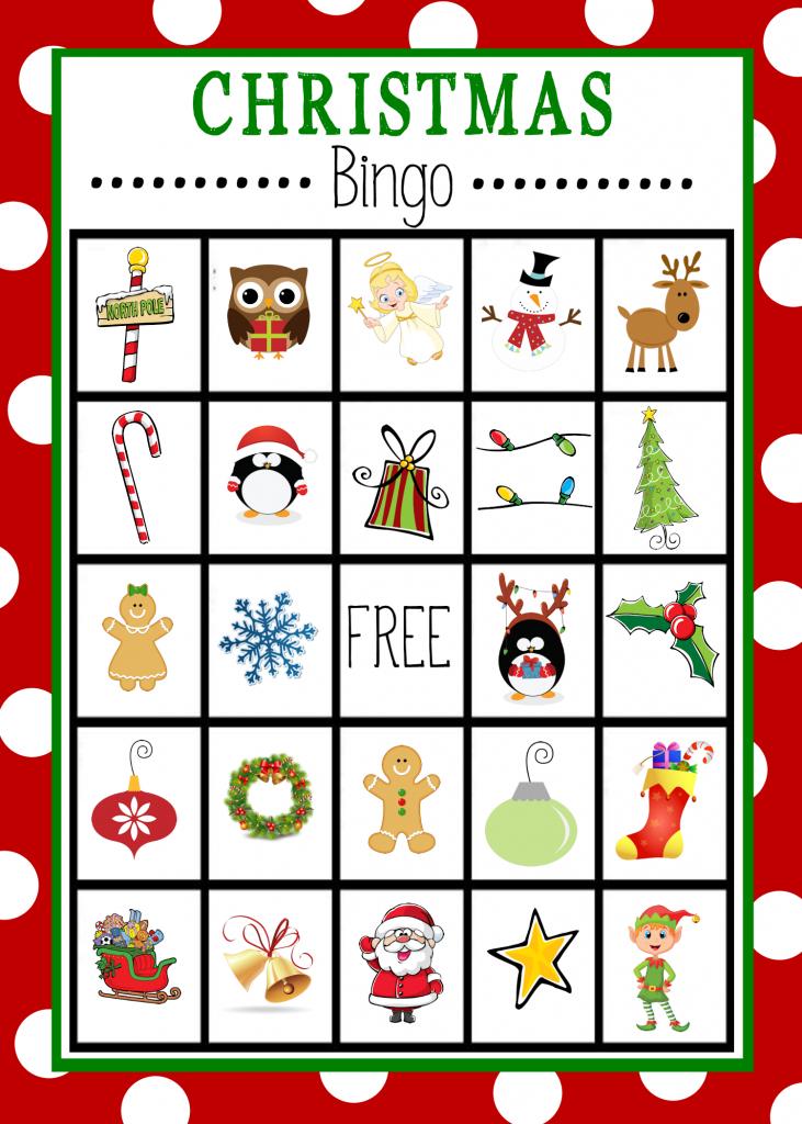 Free Printable Christmas Bingo Game   Christmas   Christmas Bingo   Free Printable Bingo Cards For Large Groups