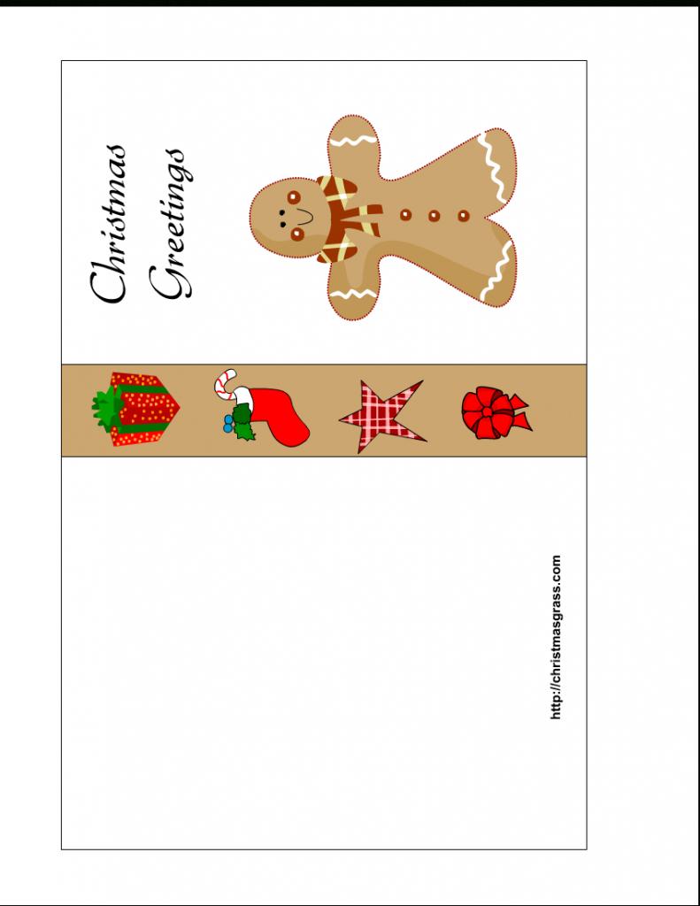 Free Printable Christmas Cards | Free Printable Christmas Card With | Printable Christmas Greeting Cards