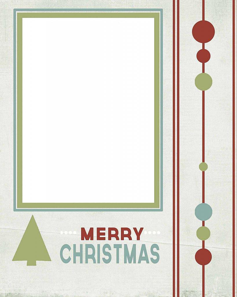 Free Printable Christmas Cards With Photo Insert - Kleo.bergdorfbib.co   Free Printable Christmas Cards With Photo Insert