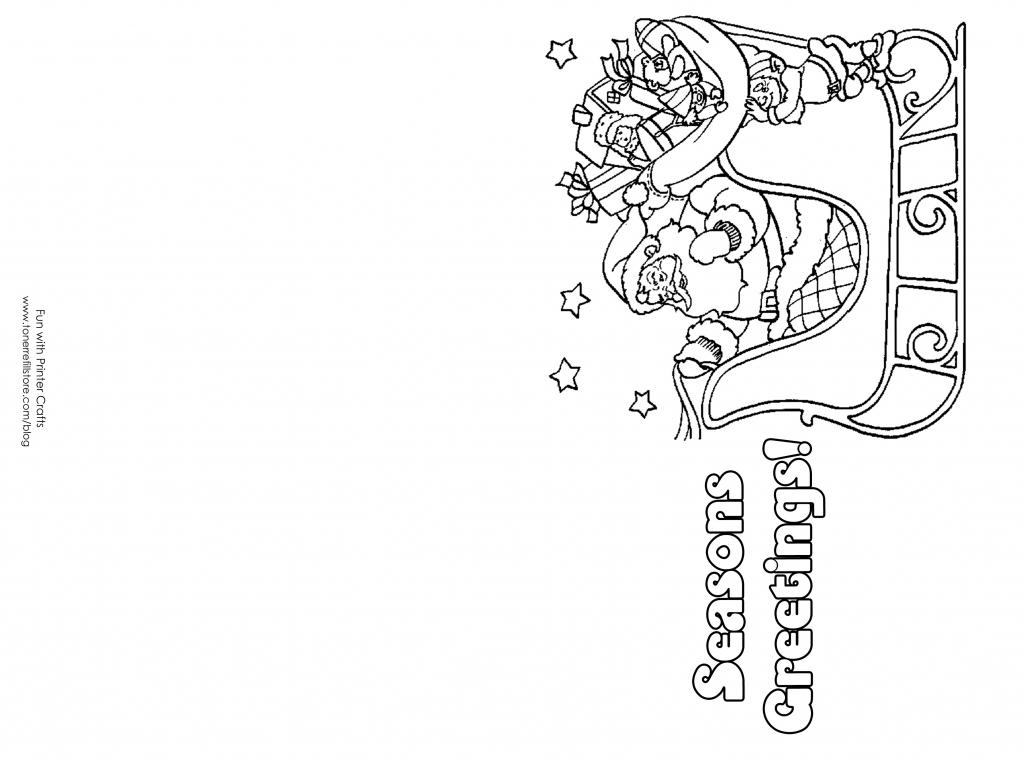Free Printable Christmas Postcards - Canas.bergdorfbib.co | Free Printable Christmas Cards To Color