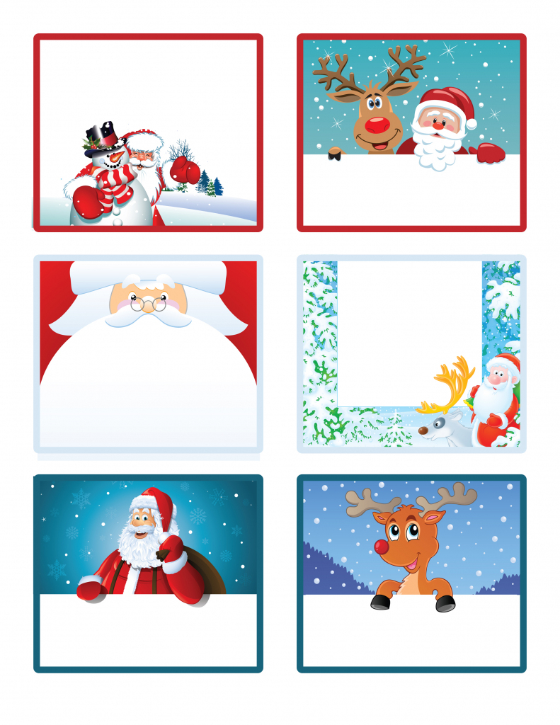 Free Printable Christmas Tags Templates – Fun For Christmas & Halloween | Free Printable Christmas Gift Cards