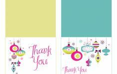 Free Printable Christmas Thank You Notes – Festival Collections | Christmas Thank You Cards Printable Free