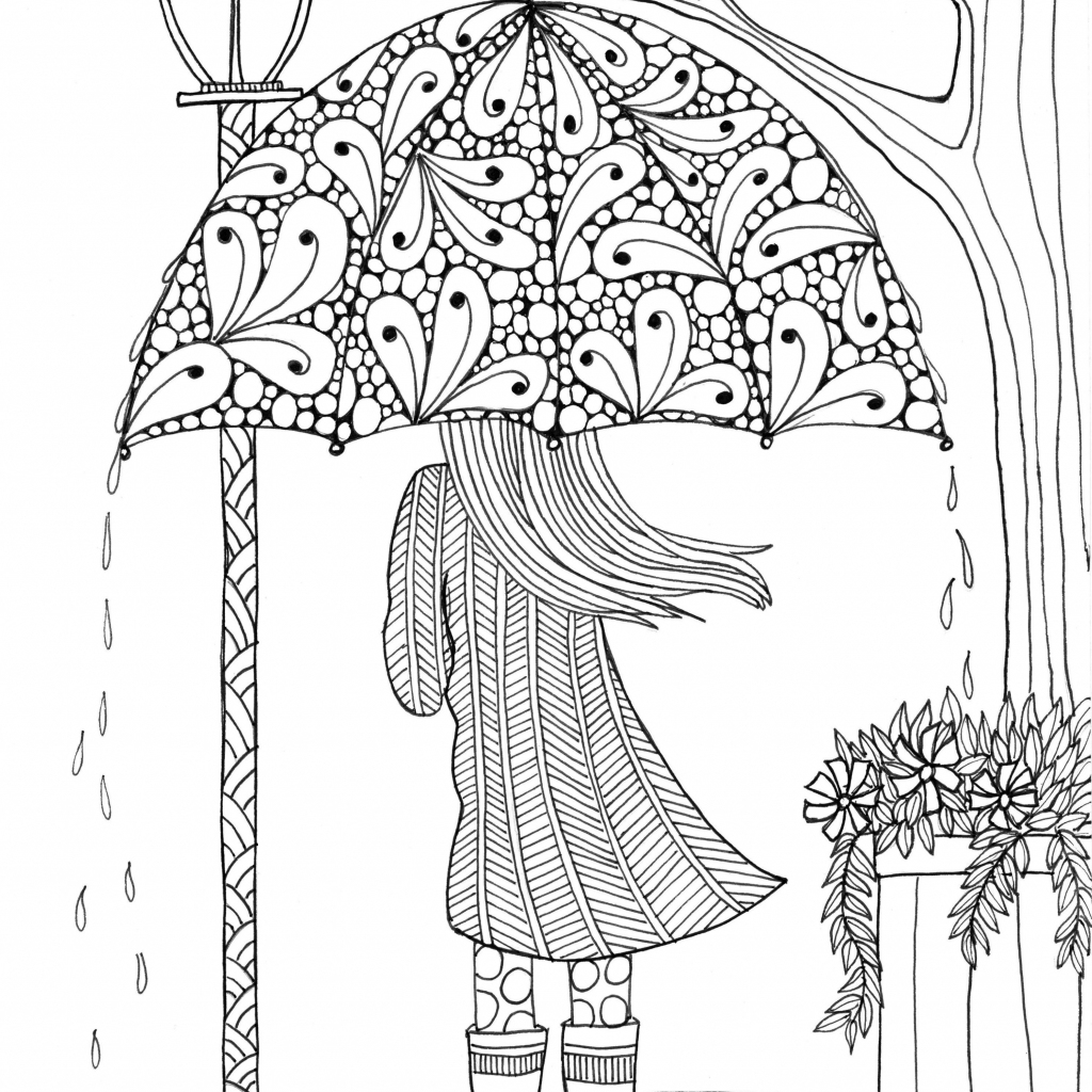 Free, Printable Coloring Pages For Adults   Free Printable Coloring Cards For Adults