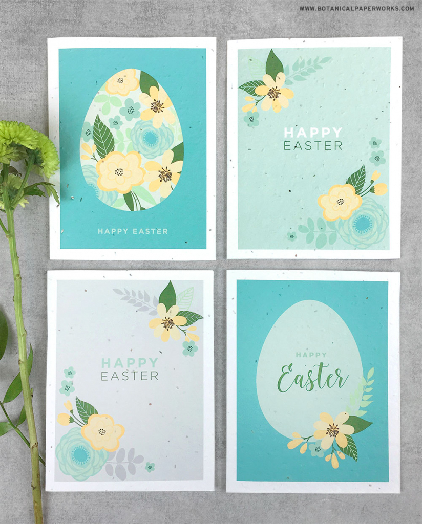 Free Printable} Easter Cards   Blog   Botanical Paperworks   Free Printable Easter Cards To Print