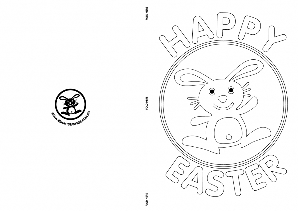 Free Printable Easter Cards Templates – Happy Easter & Thanksgiving 2018   Free Printable Easter Cards To Print