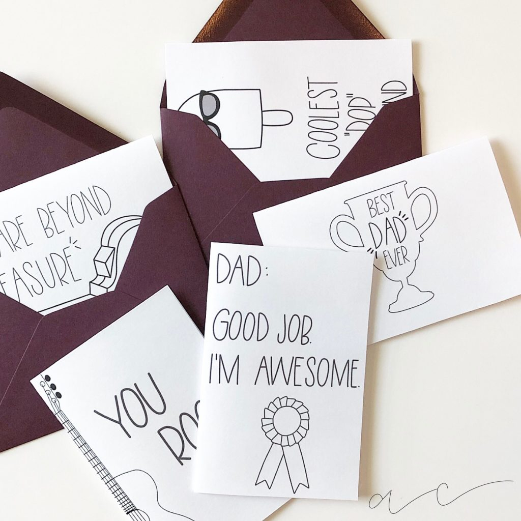 Free Printable! - Father's Day Cards | All Things Thrifty | Hallmark Free Printable Fathers Day Cards