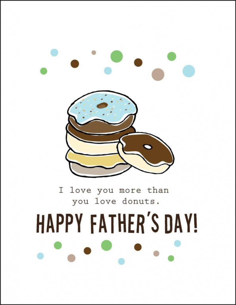 Free Printable Fathers Day Cards    Cardstock Paper Will Print 2   Free Happy Fathers Day Cards Printable