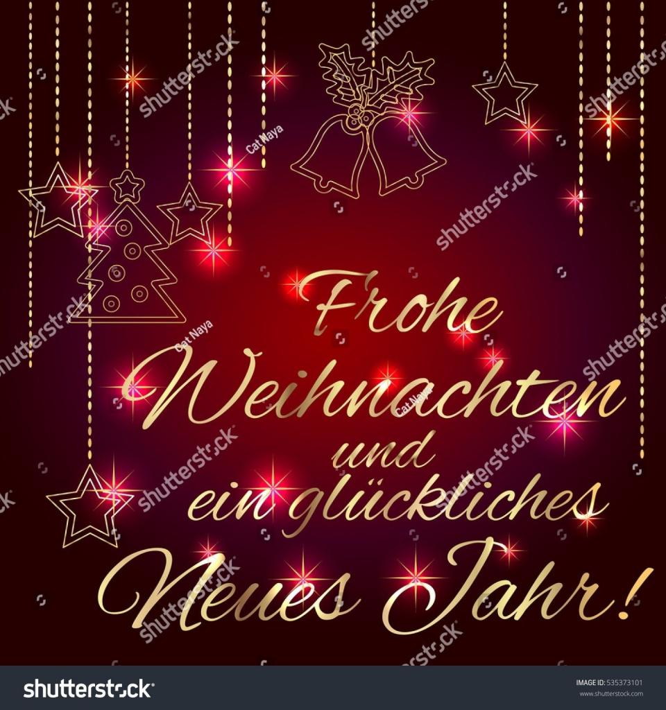 Free Printable German Christmas Cards – Festival Collections   Free Printable German Christmas Cards