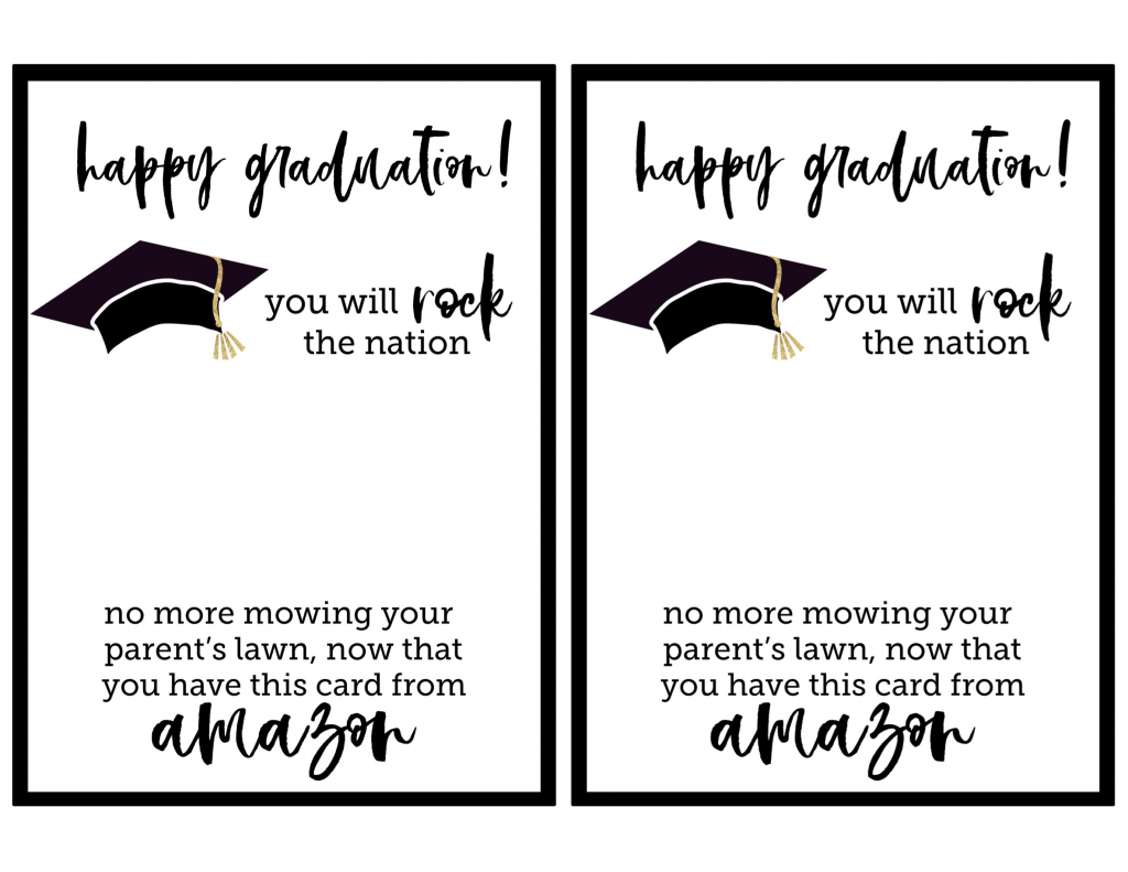 Free Printable Graduation Card - Paper Trail Design | Free Printable Graduation Cards