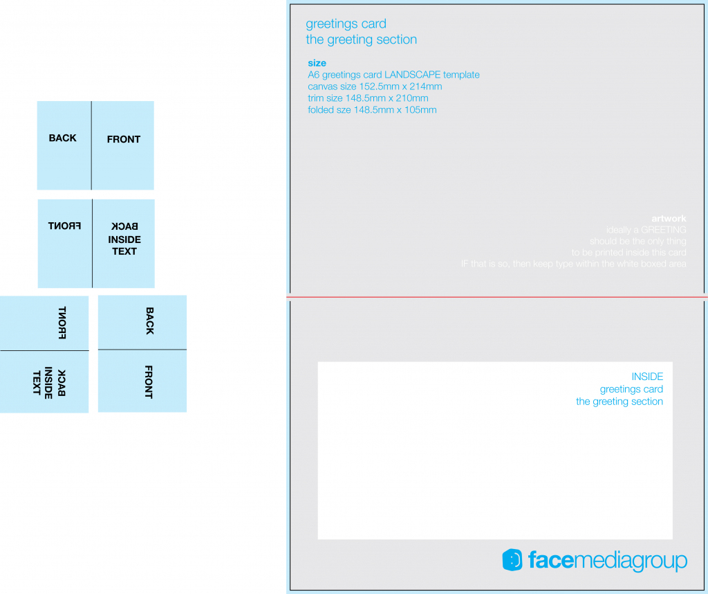 Free Printable Greeting Card Templates - Kleo.bergdorfbib.co   Printable Greeting Card Template