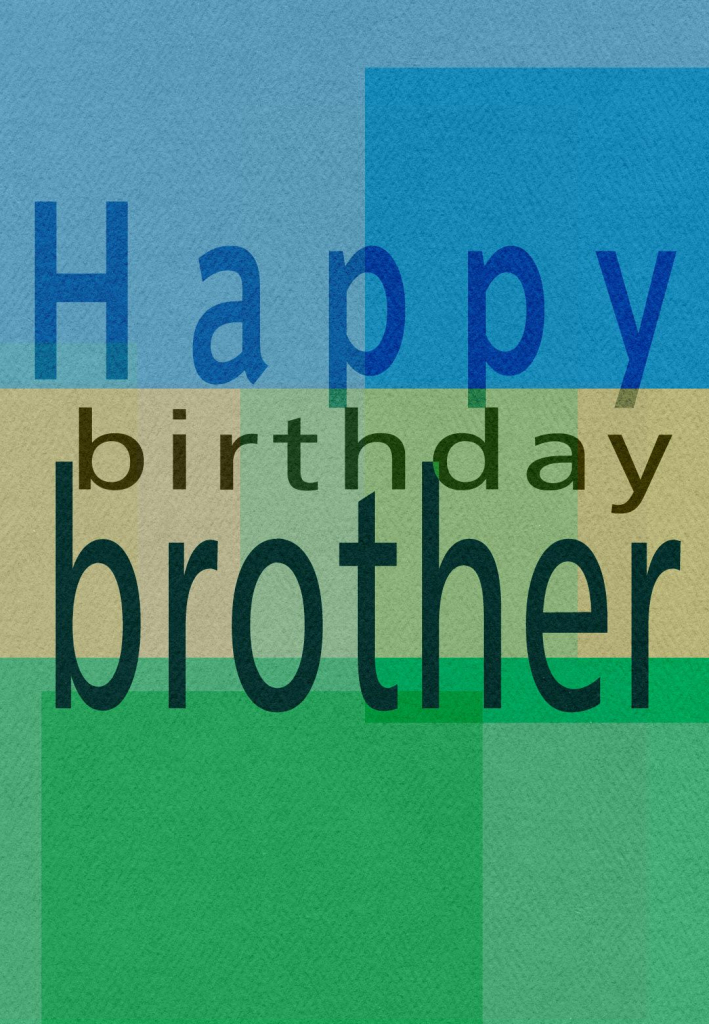 Free Printable Greeting Cards | Gift Ideas | Happy Birthday Brother | Happy Birthday Brother Cards Printable