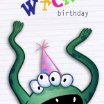 Free Printable Greeting Cards – The Kids Love To Make Cards With | Printable Birthday Cards For Kids