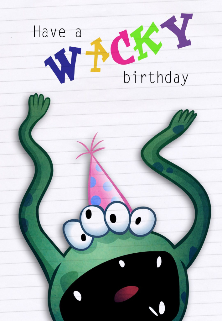 Free Printable Greeting Cards - The Kids Love To Make Cards With   Printable Birthday Cards For Kids