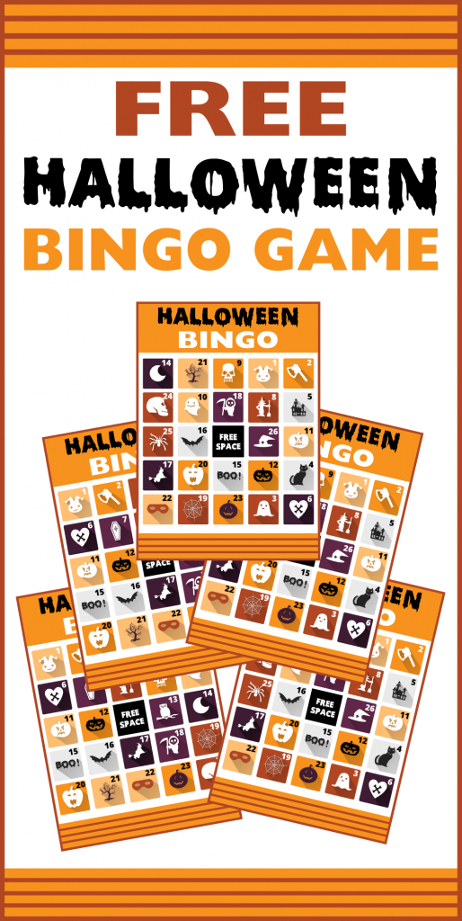 Free Printable Halloween Bingo Cards | Catch My Party | Free Printable Halloween Bingo Cards
