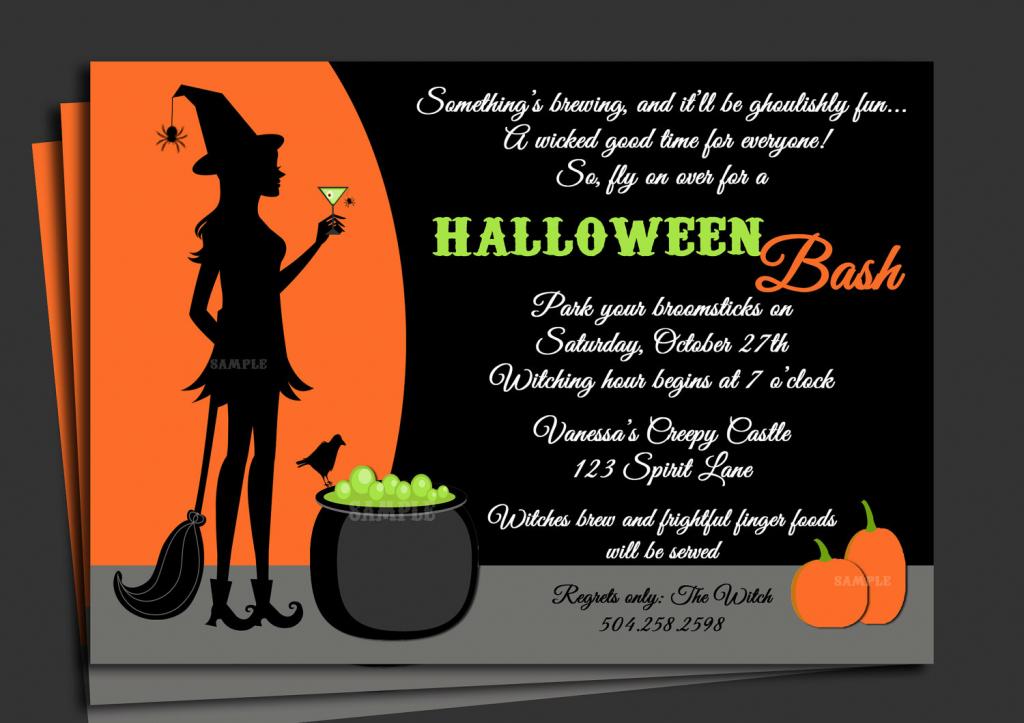 Free Printable Halloween Birthday Cards – Halloween & Holidays Wizard   Printable Halloween Greeting Cards