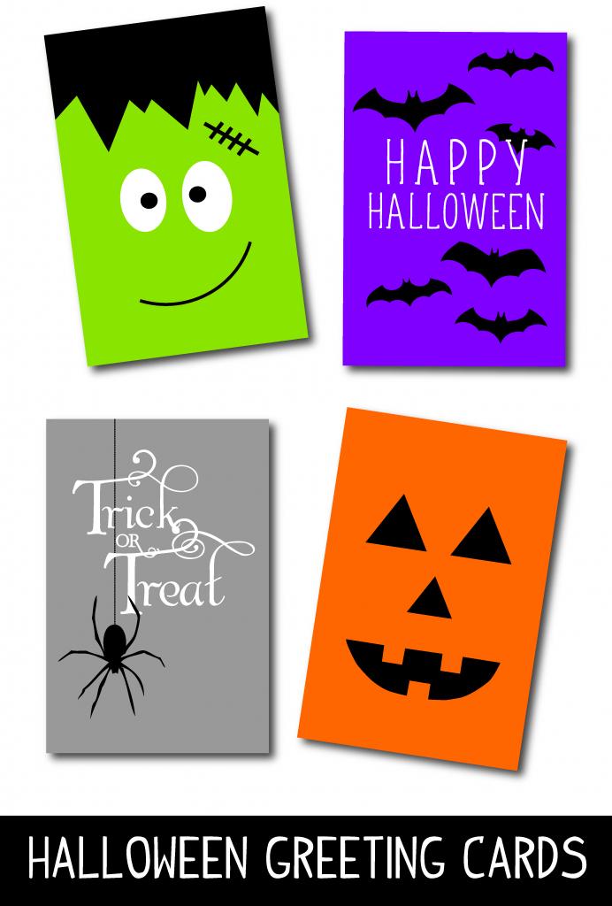 Free Printable Halloween Cards – Fun For Christmas & Halloween   Free Printable Halloween Cards
