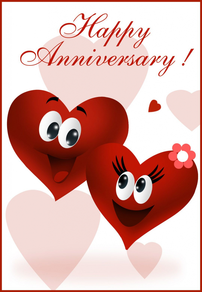 Free Printable Happy Anniversary Greeting Card | Anniversary | Happy | Anniversary Cards For Grandparents Printable