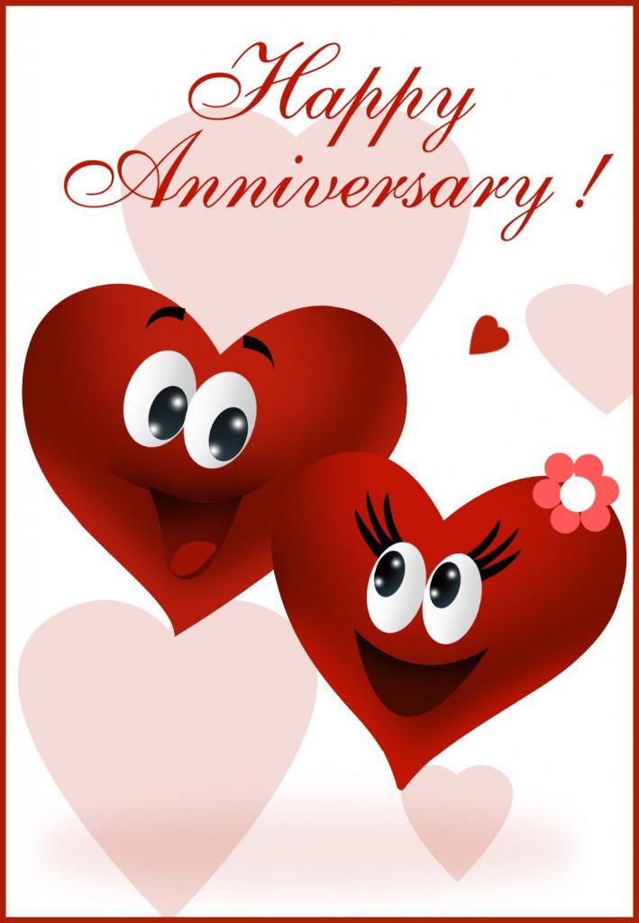 Free Printable Happy Anniversary Greeting Card | Anniversary | Happy | Printable Wedding Anniversary Cards