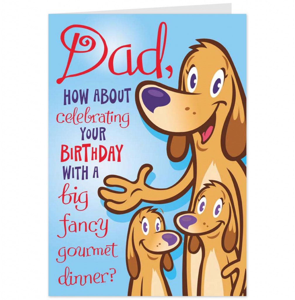 Free Printable Happy Birthday Cards For Dad   Free Printable   Free Printable Birthday Cards For Dad