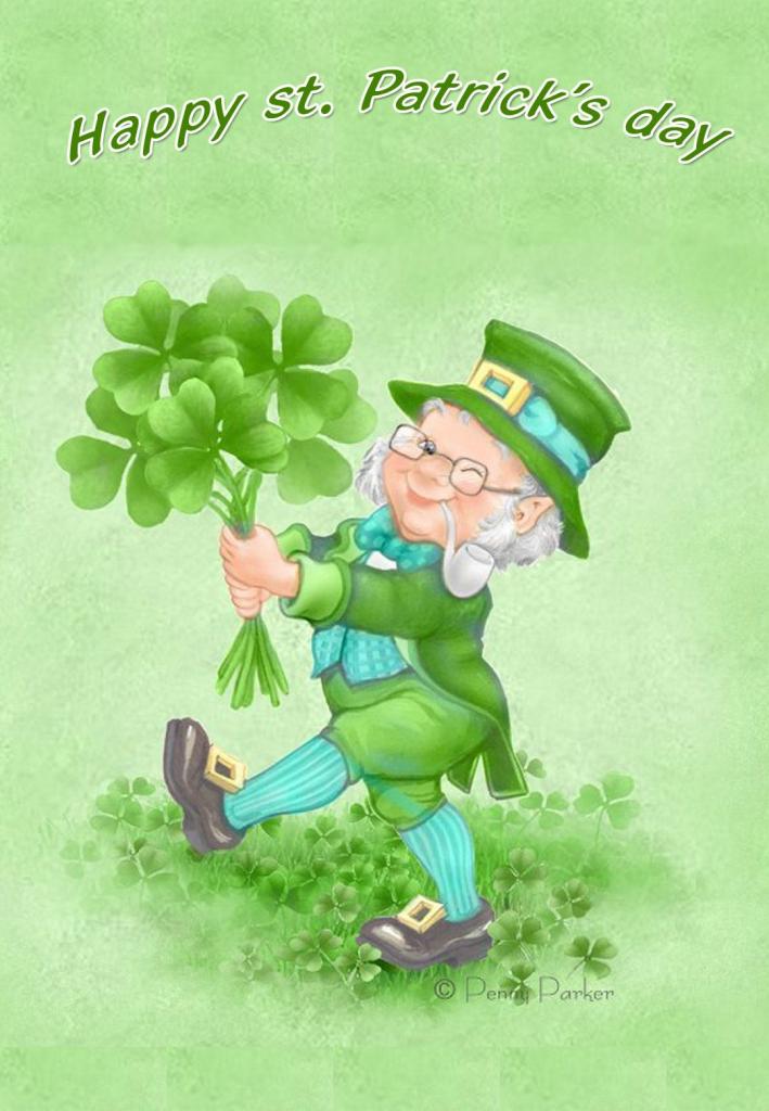 Free Printable Happy St Patricks Day Greeting Card   Printable St   Free Printable St Patrick's Day Card