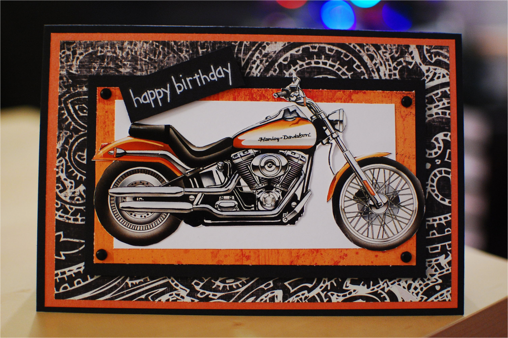Free Printable Harley Davidson Birthday Cards   Birthdaybuzz   Harley Davidson Cards Printable
